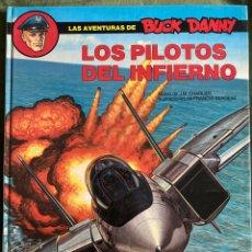Cómics: ANTIGUO CÓMIC LOS PILOTOS DEL INFIERNO BUCK DANNY GRIJALBO. Lote 251501440