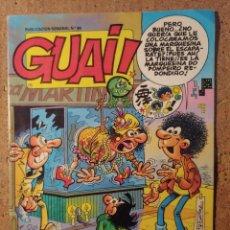 Cómics: COMIC DE GUAI! DEL AÑO 1988 Nº 89. Lote 251554865