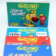 Cómics: GRIMMY 1 2 3 4. COMPLETA (MIKE PETERS) JUNIOR / GRIJALBO, 1989. MOTHER GOOSE AND GRIMM. OFRT. Lote 287953523