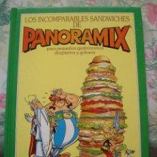 Cómics: LOS INCOMPARABLES SANDWICHES DE PANORAMIX UDERZO TIMUN MAS ASTERIX Y OBELIX. Lote 251651565