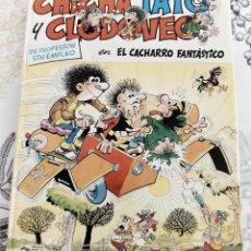 Cómics: CHICHA TATO Y CLODOVEO EL CACHARRO FANTÁSTICO GRIJALBO JUNIOR N.º 4 PASTA DURA. Lote 252450965