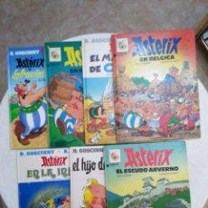 Cómics: LOTE DE 7 ASTERIX DE PASTA DURA ( 4 EDICIONES DIFERENTES ). Lote 252691615