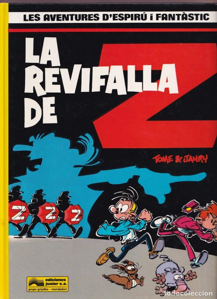 LA REVIFALLA DE Z - TOME I JANRY - LES AVENTURES DE ESPIRU I FANTÁSTIC 23 - ED, JUNIOR 1990 (Tebeos y Comics - Grijalbo - Spirou)