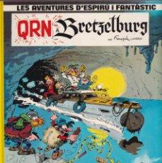 Comics: QRN BRETZELBURG - FRANQUIN - LES AVENTURES DE ESPIRU I FANTÁSTIC 14 - ED, JUNIOR 1990. Lote 252764280