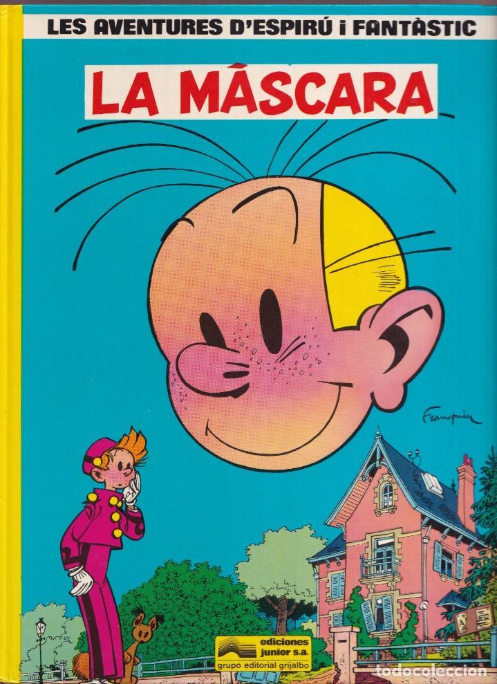 LA MÁSCARA - FRANQUIN - LES AVENTURES DE ESPIRU I FANTÁSTIC 5 - ED, JUNIOR 1988 (Tebeos y Comics - Grijalbo - Spirou)