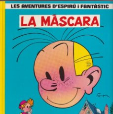 Cómics: LA MÁSCARA - FRANQUIN - LES AVENTURES DE ESPIRU I FANTÁSTIC 5 - ED, JUNIOR 1988. Lote 252764655