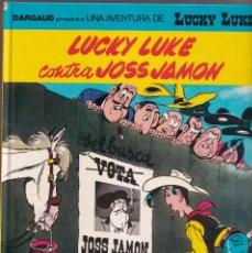 Cómics: CONTRA JOSS JAMON - MORRIS GOSCINNY - LUCKY LUKE 46 - ED, JUNIOR 1991 CATALÁN. Lote 252767075