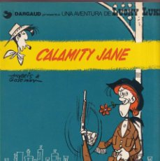 Comics: CALAMITY JANE - MORRIS GOSCINNY - LUCKY LUKE 46 - ED, JUNIOR 1984 CATALÁN. Lote 252767890