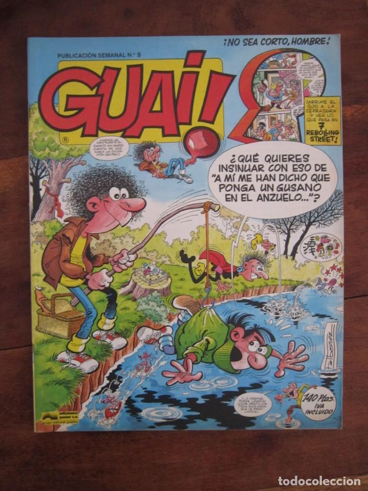Cómics: LOTE DE 48 CÓMICS GUAI! IBAÑEZ. JUNIOR GRIJALBO-EDICIONES B. EXCELENTE ESTADO TEBENI - Foto 6 - 41841808