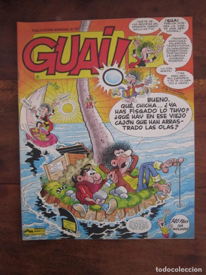 Cómics: LOTE DE 48 CÓMICS GUAI! IBAÑEZ. JUNIOR GRIJALBO-EDICIONES B. EXCELENTE ESTADO TEBENI - Foto 8 - 41841808