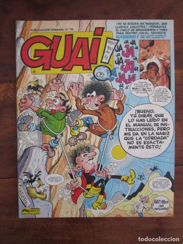 Cómics: LOTE DE 48 CÓMICS GUAI! IBAÑEZ. JUNIOR GRIJALBO-EDICIONES B. EXCELENTE ESTADO TEBENI - Foto 16 - 41841808
