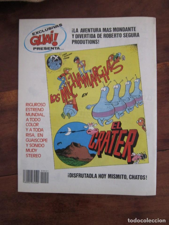 Cómics: LOTE DE 48 CÓMICS GUAI! IBAÑEZ. JUNIOR GRIJALBO-EDICIONES B. EXCELENTE ESTADO TEBENI - Foto 25 - 41841808