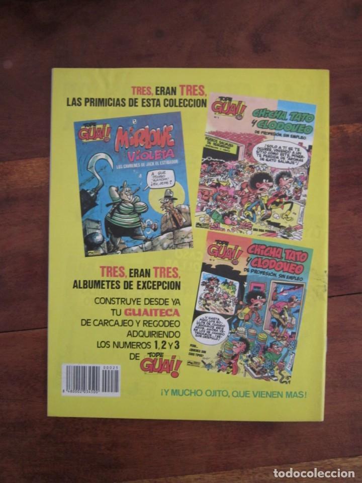 Cómics: LOTE DE 48 CÓMICS GUAI! IBAÑEZ. JUNIOR GRIJALBO-EDICIONES B. EXCELENTE ESTADO TEBENI - Foto 31 - 41841808