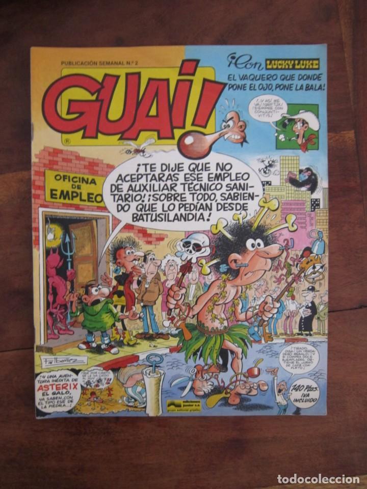 Cómics: LOTE DE 48 CÓMICS GUAI! IBAÑEZ. JUNIOR GRIJALBO-EDICIONES B. EXCELENTE ESTADO TEBENI - Foto 32 - 41841808