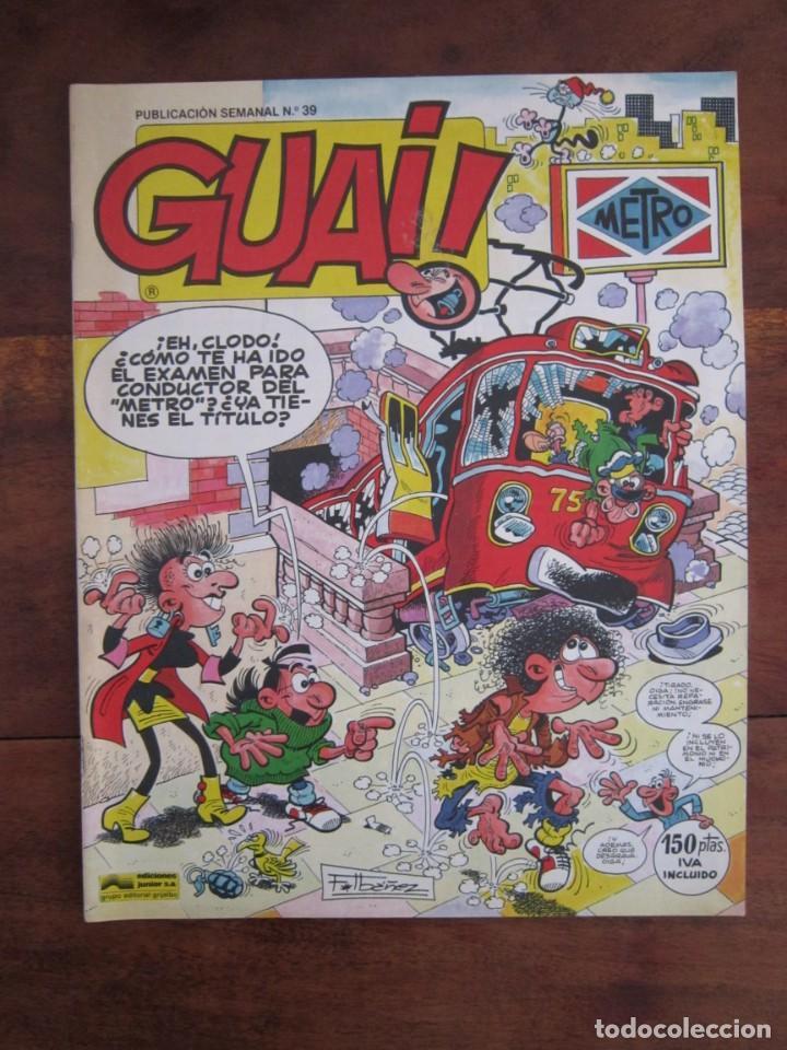 Cómics: LOTE DE 48 CÓMICS GUAI! IBAÑEZ. JUNIOR GRIJALBO-EDICIONES B. EXCELENTE ESTADO TEBENI - Foto 38 - 41841808
