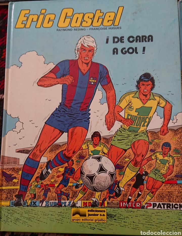 Cómics: Eric Castel, lote de 5 cómics, álbumes originales años 80 - Foto 2 - 253136430