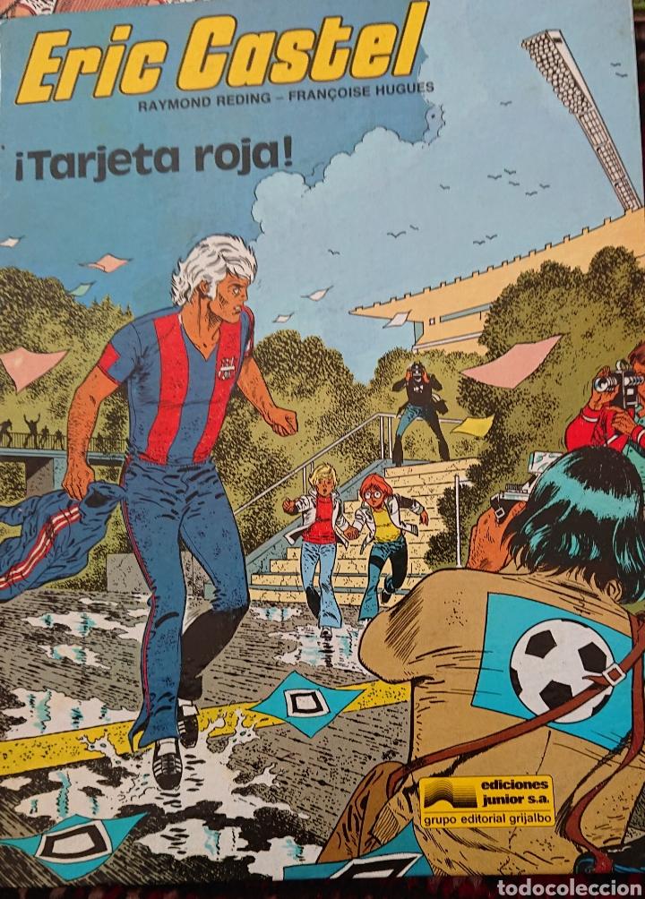 Cómics: Eric Castel, lote de 5 cómics, álbumes originales años 80 - Foto 3 - 253136430