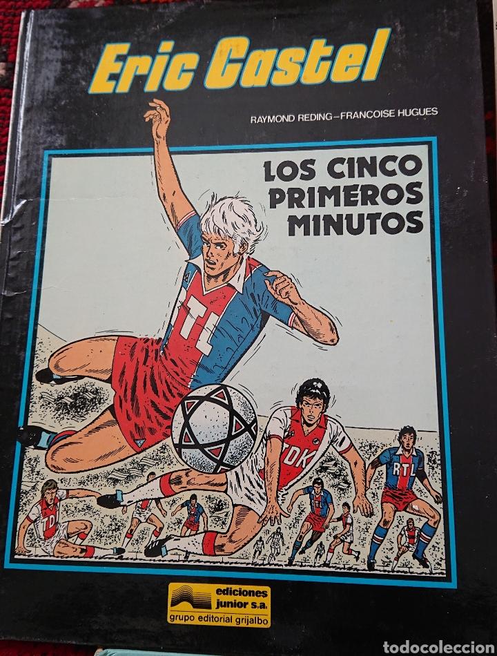 Cómics: Eric Castel, lote de 5 cómics, álbumes originales años 80 - Foto 4 - 253136430