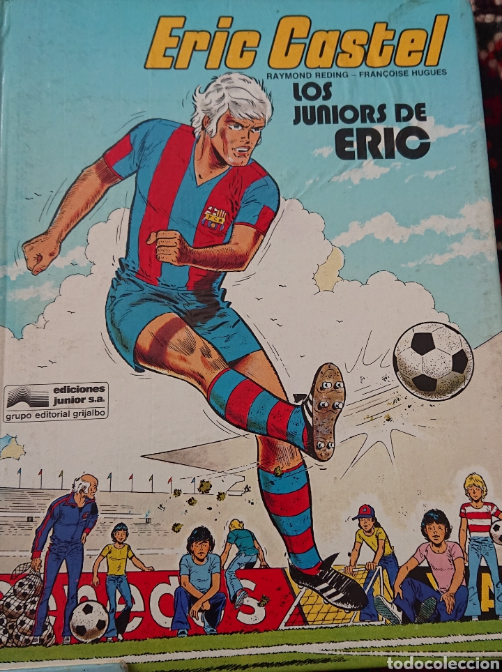 Cómics: Eric Castel, lote de 5 cómics, álbumes originales años 80 - Foto 6 - 253136430