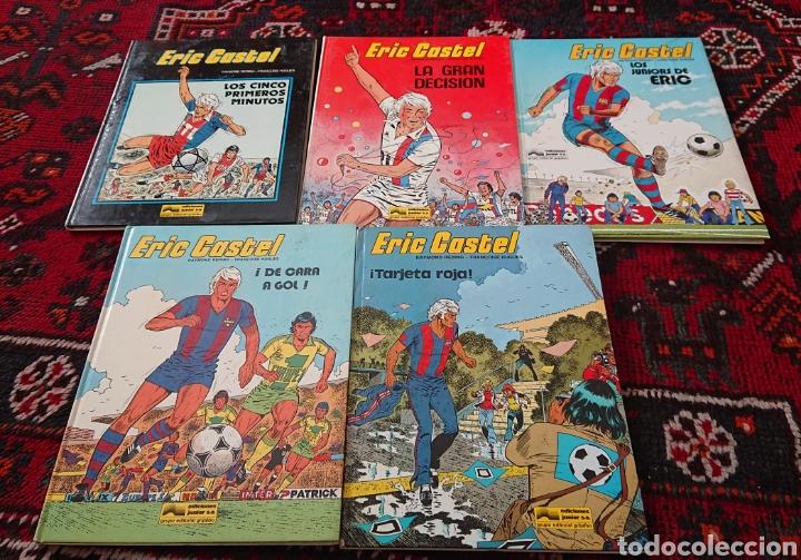 ERIC CASTEL, LOTE DE 5 CÓMICS, ÁLBUMES ORIGINALES AÑOS 80 (Tebeos y Comics - Grijalbo - Eric Castel)