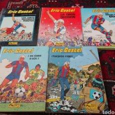 Cómics: ERIC CASTEL, LOTE DE 5 CÓMICS, ÁLBUMES ORIGINALES AÑOS 80. Lote 253136430
