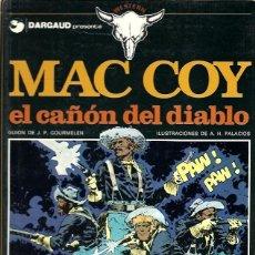 Cómics: MAC COY Nº 09 : EL CAÑON DEL DIABLO. Lote 253180290