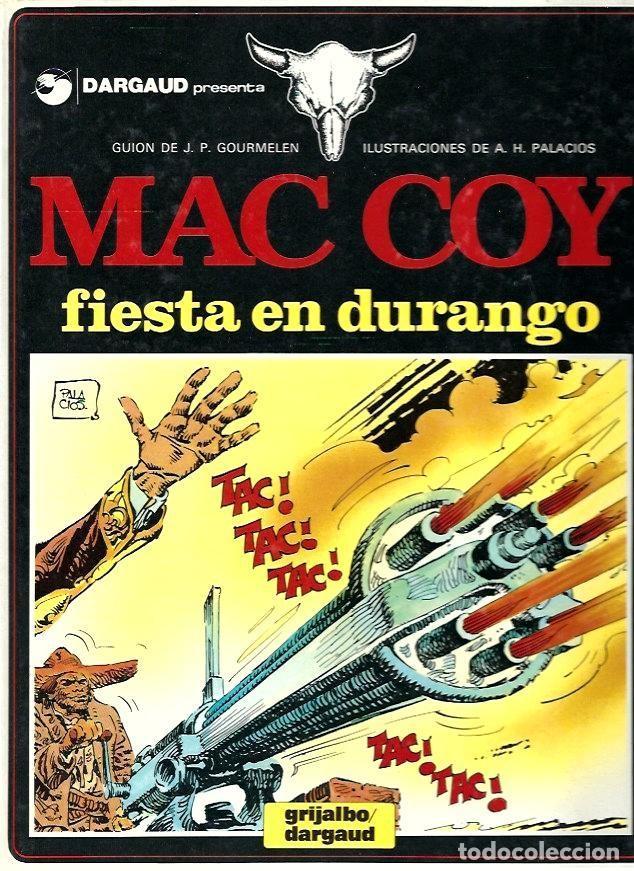 MAC COY Nº 10 : FIESTA EN DURANGO (Tebeos y Comics - Grijalbo - Mac Coy)