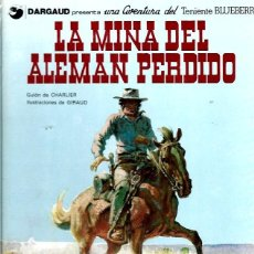 Cómics: EL TENIENTE BLUEBERRY Nº 01 LA MINA DEL ALEMAN PERDIDO. Lote 253181905