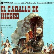 Cómics: EL TENIENTE BLUEBERRY Nº 03 EL CABALLO DE HIERRO. Lote 253185320