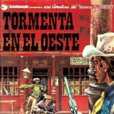 Cómics: EL TENIENTE BLUEBERRY Nº 17 TORMENTA EN EL OESTE. Lote 253185665