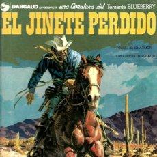 Cómics: TENIENTE BLUEBERRY Nº 19 EL JINETE PERDIDO. Lote 253185965