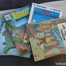 Cómics: 3 ALBUMES DE ASTERIX Y 1 DE TINTÍN - USADOS - ESPAÑOL. Lote 253331390