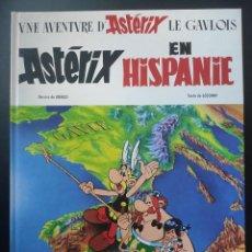 """Cómics: ALBUM DE ASTERIX EN FRANCÉS - """"ASTÉRIX EN HISPANIE"""" - 1990. Lote 253334395"""