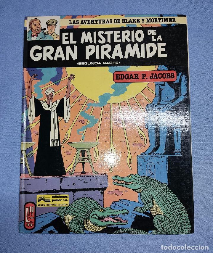 LAS AVENTURAS DE BLAKE Y MORTIMER EL MISTERIO DE LA GRAN PIRAMIDE Nº 2 SEGUNDA PARTE EXCELENTE (Tebeos y Comics - Grijalbo - Blake y Mortimer)