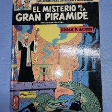 Cómics: LAS AVENTURAS DE BLAKE Y MORTIMER EL MISTERIO DE LA GRAN PIRAMIDE Nº 2 SEGUNDA PARTE EXCELENTE. Lote 253514370