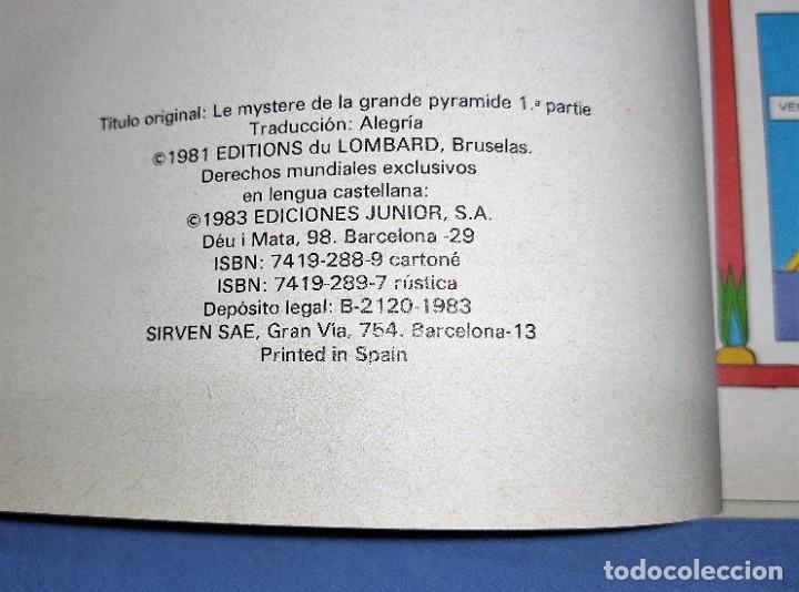 Cómics: LAS AVENTURAS DE BLAKE Y MORTIMER EL MISTERIO DE LA GRAN PIRAMIDE Nº 1 PRIMERA PARTE EXCELENTE - Foto 2 - 253514950
