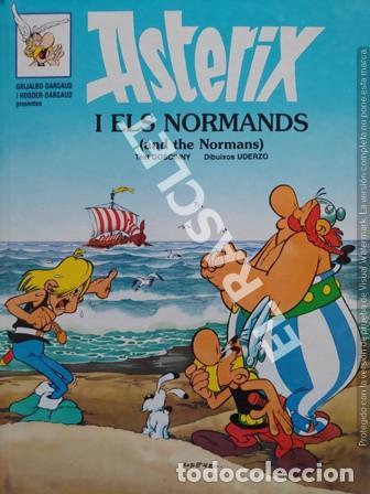 ASTERIX - I ELS NORMANDS - CATALÁN / INGLÉS - TAPAS DURAS (Tebeos y Comics - Grijalbo - Asterix)