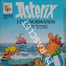 Cómics: ASTERIX - I ELS NORMANDS - CATALÁN / INGLÉS - TAPAS DURAS. Lote 253686605