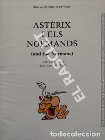 Cómics: ASTERIX - I ELS NORMANDS - CATALÁN / INGLÉS - TAPAS DURAS - Foto 2 - 253686605