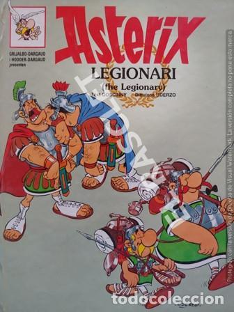 ASTERIX - LEGIONARI - CATALÁN / INGLÉS - NUMERO 9 - TAPAS DURAS (Tebeos y Comics - Grijalbo - Asterix)