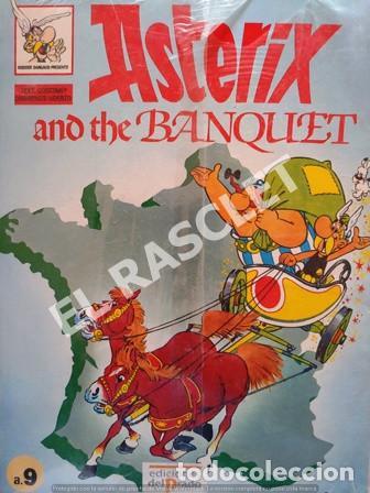 ASTERIX - AND THE BANQUET - Nº A9- EDICIONES EL PRADO (Tebeos y Comics - Grijalbo - Asterix)