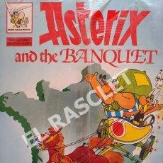 Cómics: ASTERIX - AND THE BANQUET - Nº A9- EDICIONES EL PRADO. Lote 253706405