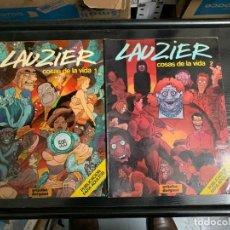 Comics : LAS COSAS DE LA VIDA, DE LAUZIER. COMPLETA. 5 ÁLBUMES. Lote 254007410