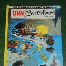 Cómics: LES AVENTURES DE SPIROU Y FANTASIO Nº14 - QRN A BRETZELBURG - ED.JUNIOR,GRIJALBO 1990 EN CATALAN. Lote 254057400