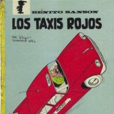 Cómics: BENITO SANSON. LOS TAXIS ROJOS . ARGOS. TAPA DURA. Lote 254145075