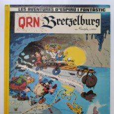 Cómics: SPIROU LES AVENTURES D'ESPIRÚ I FANTÀSTIC QRN A BRETZELBURG. Lote 254194575