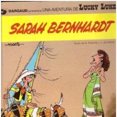 Fumetti: COMIC LUCKY LUKE: SARAH BERNHARDT; GRIJALBO DARGAUD, AÑO 1983, TAPA DURA. Lote 254452920