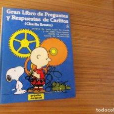 Cómics: GRAN LIBRO DE PREGUNTAS Y RESPUESTAS DE CARLITOS Nº 5 EDITA GRIJALBO. Lote 254705525