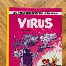 Cómics: ESPIRÚ: LES AVENTURES D'ESPIRU I FANTASTIC Nº 19: VIRUS - CATALÁ - D2 - MUY BUEN ESTADO. Lote 254843500