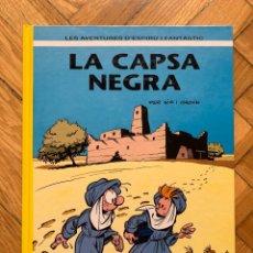 Cómics: ESPIRÚ: LES AVENTURES D'ESPIRU I FANTASTIC Nº 44: LA CAPSA NEGRA - CATALÁ - IMPOLUTO. Lote 254843510